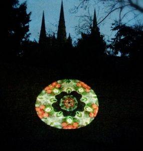 Luxmuralis Lichfield Art Projection