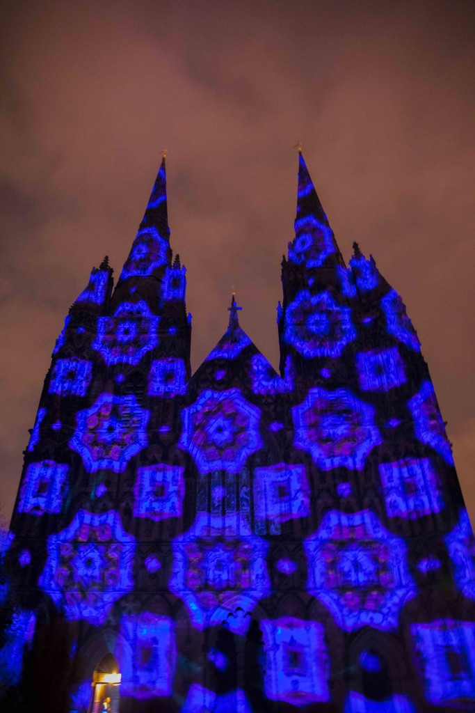 lichfield cathedral luxmuralis 2018 peace on earth_13