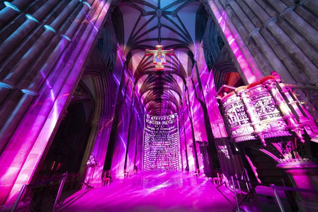 luxmuralis Science at Lichfield Cathedral PHoto D Harper_4