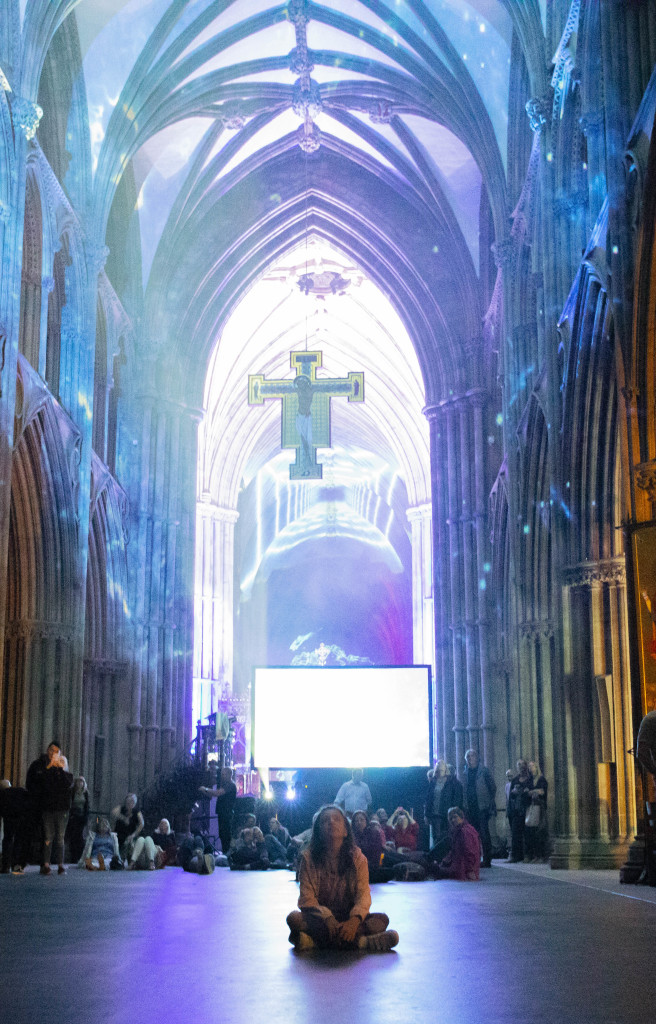 david harper peter walker sculptor space lichfield cathedral luxmuralis _1
