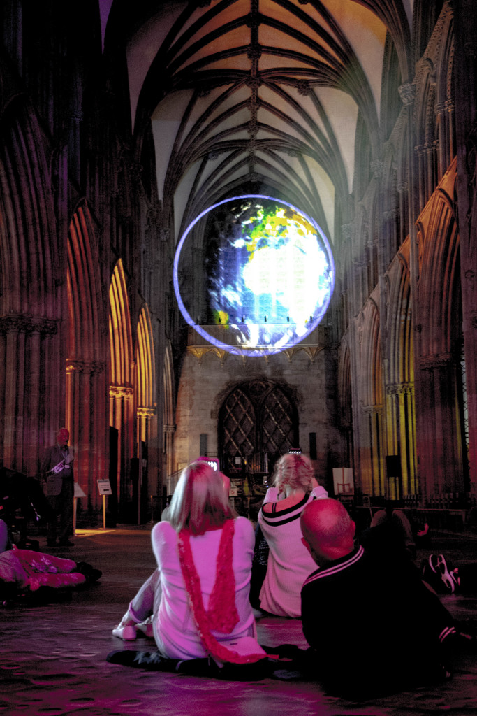 peter walker sculptor space lichfield cathedral luxmuralis _1