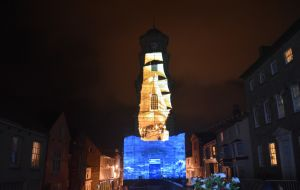 Luxmuralis Penryn Becky Curtis Pic 800 Cornwall Son Et Lumiere