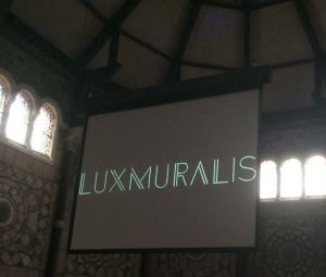 St Annes Luxmuralis Projection Artwork